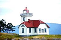 Patos Island Lighthouse in Washington