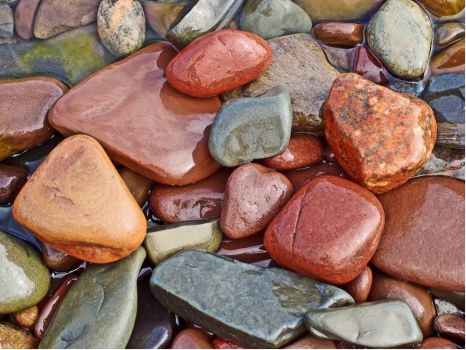 Nature's Colorful Rocks - fewer pieces