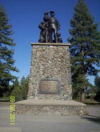 Memorial at Donner Park