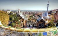Park-Guell,-Barcelona