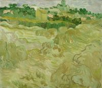 Van Gogh, Wheat Fields with Auvers in the Background, July 1890