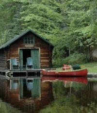 Cabana em algum lago do mundo !!!