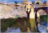 Joaquín Sorolla, Puente de San Martín, Toledo