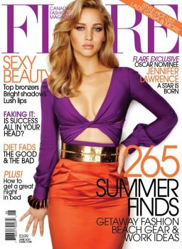 Flare Jennifer Lawrence