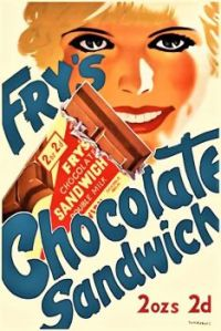 Themes Vintage ads - Fry`s Chocolate Sandwich