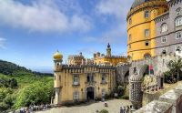 Sintra castle Portugal