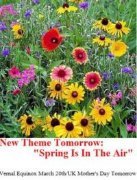 Theme: New theme tomorrow: Spring is in the Air!