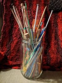 Some of my knitting needles
