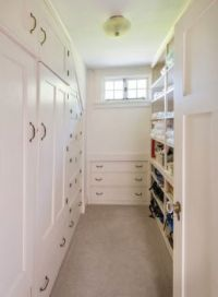Big closet, with window