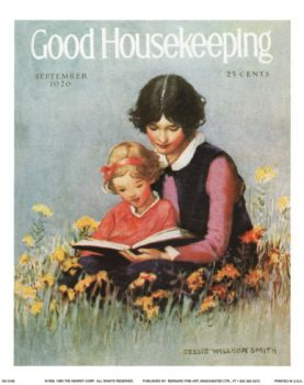 Good Housekeeping Sept 1926, cover by Jessie Willcox Smith