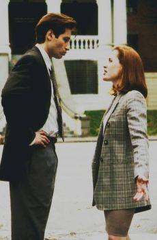 Once again, I'd really like to know what exactly Mulder did to p*** Scully off this much.
