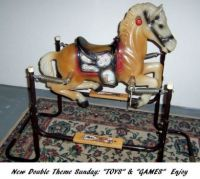 "New Double Theme Sunday: ""Toys & Games"" - The Wonder Horse - HAVE SOME FUN!"