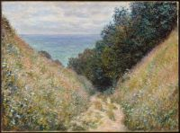 P387 Claude Monet - Path at Pourville, 1882 (Apr17P27)