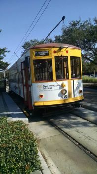 Ybor Florida trolly