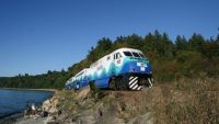 Sounder Train at Carkeek Park Seattle