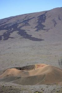 volcano landscape Reunion Island