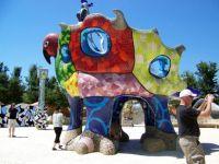Niki St Phalle - Sculpture Garden - Escondido