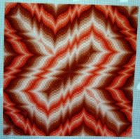 4-way bargello needlepoint - 3