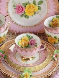 Pink & Yellow Rose Tea