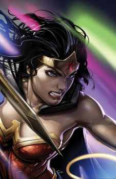 WONDER WOMAN--JUSTICE LEAGUE DARK