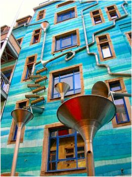 The Wall That Plays Music When It Rains - Dresden, Germany