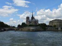 Paris Notre Dame From The Seine