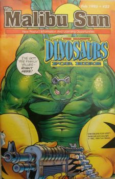 Malibu Sun Comic Book  Dinosaurs For Hire Feb 1983