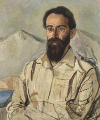 Alexander Yakovlevich Golovin (Russian, 1863–1930), Portrait of Friedrich Eduardovich Krimmer (1919)