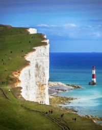 Beachy Head and Lighthouse, Sussex