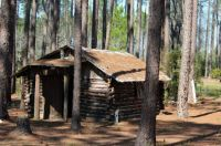 Authentic Cherokee log cabin