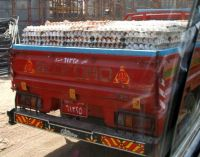 Theme - All Things Red- Egg truck, Cairo