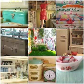 Vintage Kitchen by Under a Blue Moon on Flickr