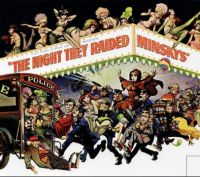 movie poster for The Night they Raided Minsky's