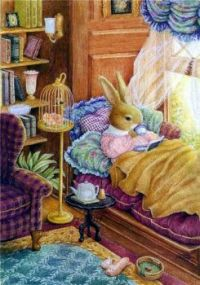 Bunny reading time