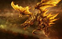 Burning Dragon (Large)