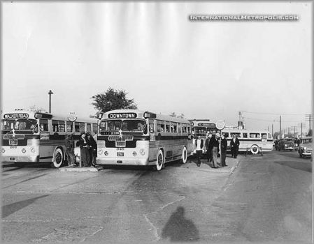 1940?s shows Tecumseh Road near Albert, were Transit Windsor