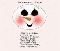 Snowball Poem