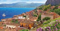 Monemvasia, Greece-Sold as a 4,000 piece puzzle