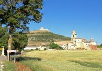 Camino de Santiago at Castrojeriz Spain