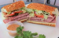 Salami Sandwich from Spreadz catering - restaurant in San Jose