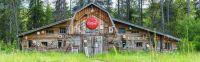 Old Americana Barn, Montana, USA