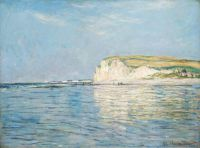 Claude Monet - Low Tide at Pourville, near Dieppe, 1882 - (Apr17P17)