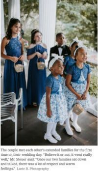 Such cute flower girls and ring bearer