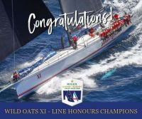 Wild Oats takes line honours