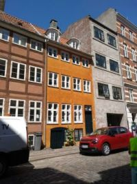 Houses on Christianshavn, Copenhagen