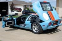 Never Unwrapped Brand-New Gulf Blue 2006 Ford GT Heads to Auction