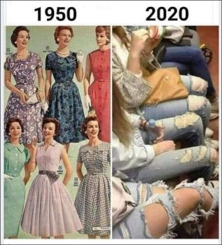 What a Difference in 70 years ☺☺☺
