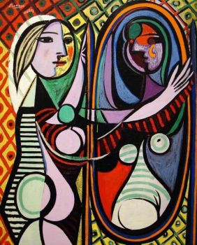 Picasso: Girl Before A Mirror (1932)