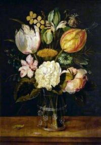 Alexander Andriaenssen (1587-1661) - Flowers in a Glass Vase