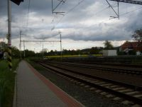 Railway station ...